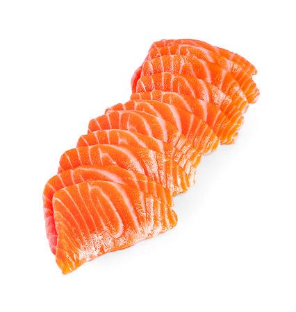 Salmon Salmon on white background Stock Photo