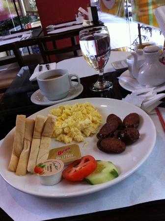english breakfast: English breakfast