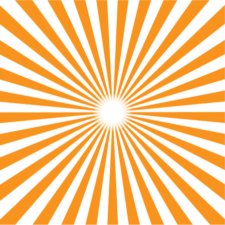 orange burst background. Vector illustration Stok Fotoğraf - 37264243
