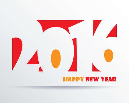 worldwide wish: 2016 Happy New Year background.vector. Illustration