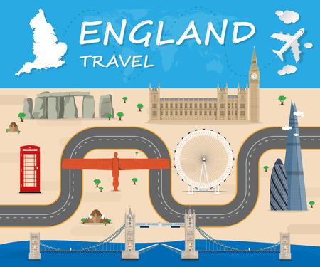 영국 여행 아이콘입니다.