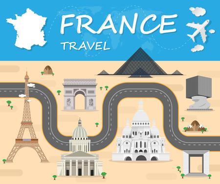 프랑스 여행 아이콘입니다. 여행 아이콘 벡터입니다. 여행 아이콘 예술. 여행 아이콘 이미지입니다. 여행 아이콘 로그인하십시오입니다. 여행 아이콘