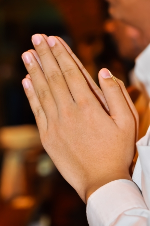 prayer hands: Pregare