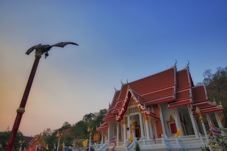 Wat Khao Chong Pran at Ratcha-buree, Thailand Stock Photo