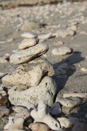 pulau: White Stone at Pulau Moyo