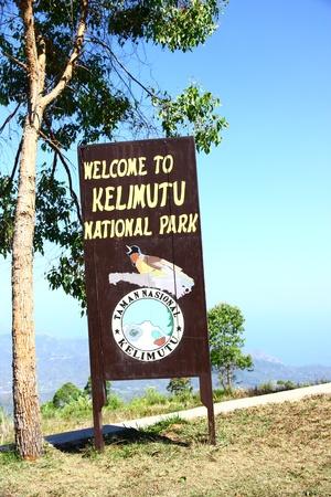 ende: Welcome to Kelimutu lake - Ende, Flores