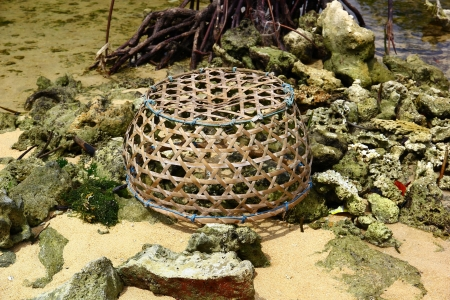 nusa: Bamboo Basket - Nusa Lembongan, Bali