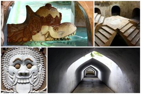 taman: Taman Sari travel collage