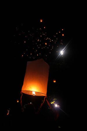婆罗浮屠寺的卫塞灯