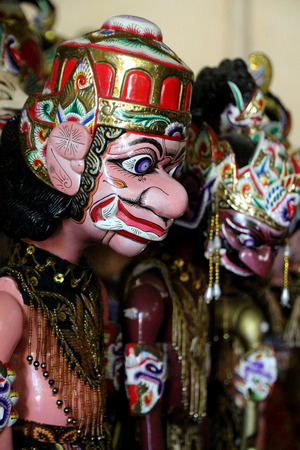 wayang: Wayang Golek - West Java traditional puppet Stock Photo