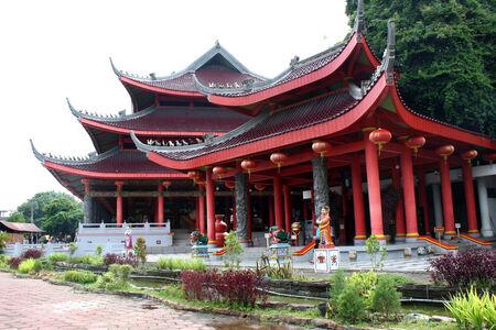 po: Sam Po Kong temple Stock Photo
