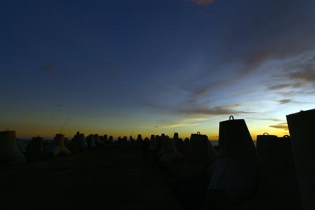 yogyakarta: Sunset at Glagah beach- Yogyakarta