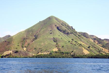 komodo island: One of island near Komodo island - Flores