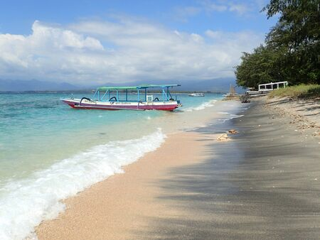 lombok: Gili Air - Lombok, Indonesia Editorial