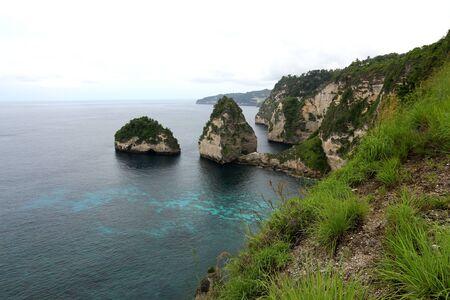 nusa: Nusa Penida beach Stock Photo