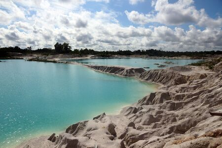 kaolin: Kaolin Lake, Belitung island
