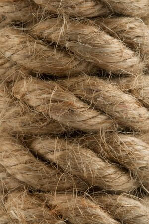 texture twisted: rope texture twisted hamp background Stock Photo