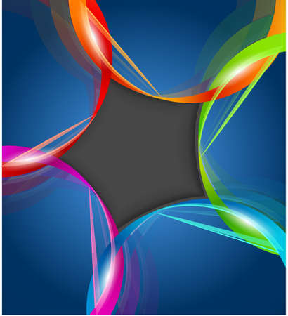 Abstract vector background vector illustration EPS10. Transparent objects used for shadows and lights drawing
