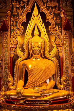 Beautiful Buddha statue, Thailand  photo