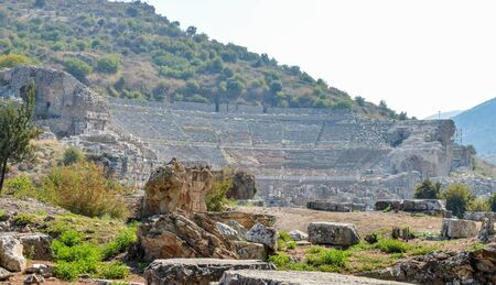 View of The Great Theate at Ephesus, Turkey