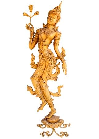 god figure: god dancing Stock Photo