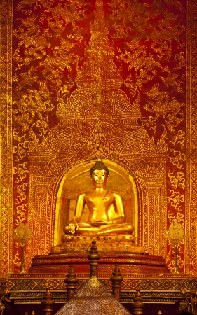buddha and art wall temple photo