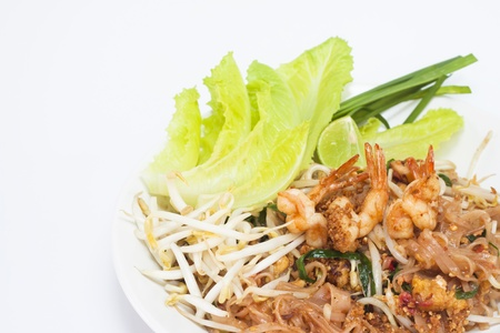 pad thai is local thai food photo