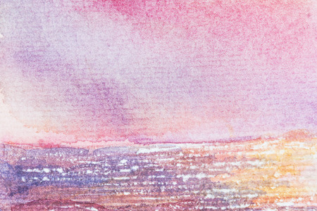 rasp: abstract and texture background watercolor on paper Stock Photo