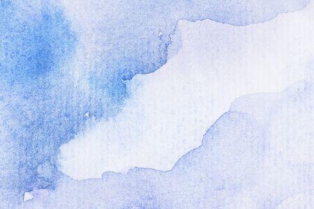 抽象とテクスチャ背景の水彩紙