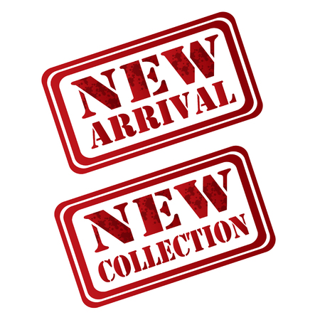 new collection: new arrival new collection Illustration