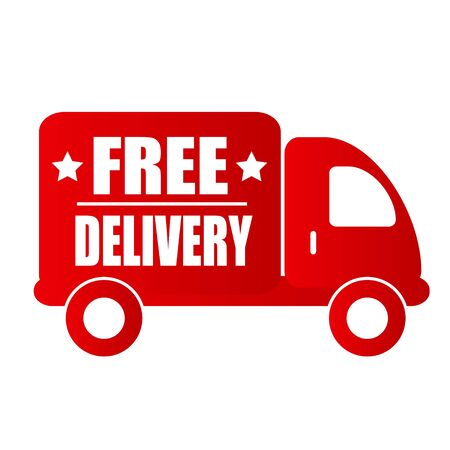 red truck: free delivery red truck
