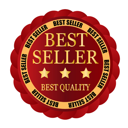 the seller: best seller red badge