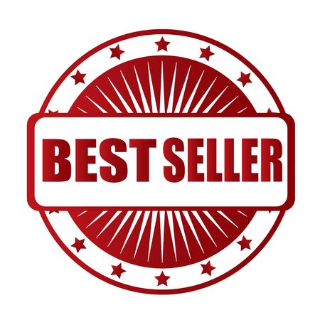 the seller: best seller star red badge