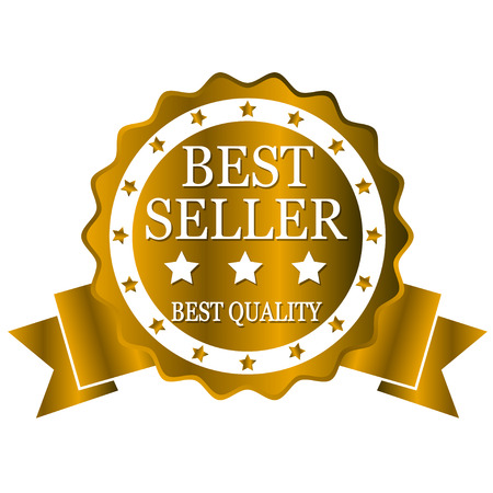 the seller: best seller golden ribbon