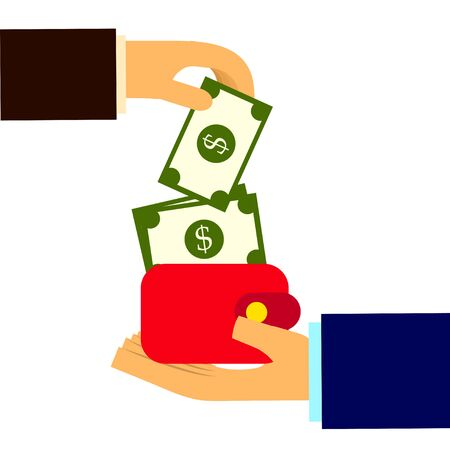 pick money: pick money from wallet