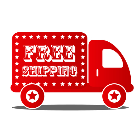 stuffs: free delivery box shipping red car