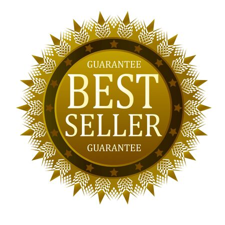 the seller: best seller guarantee badge Illustration