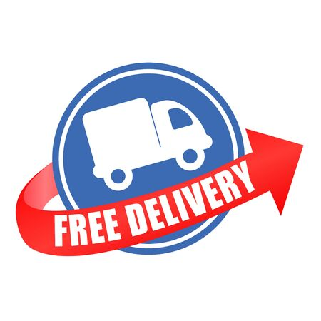 sell car: free delivery car arrow