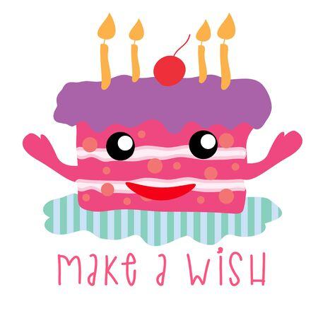 happy birth day: happy birth day cake cute pastel