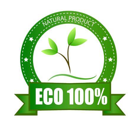 Eco products natural green organic