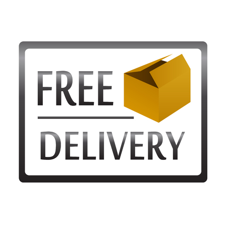 free delivery box package vector