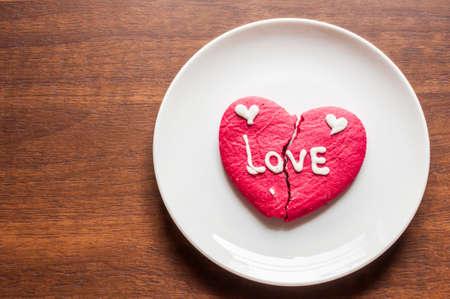 brocken: brocken heart cookie
