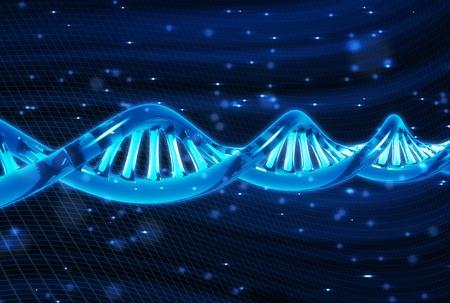 DNA molecule photo