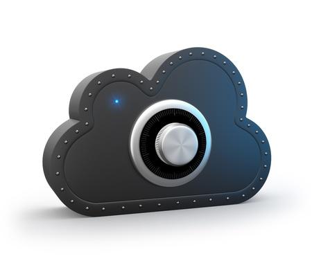 Secure cloud photo