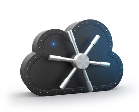 Secure cloud photo