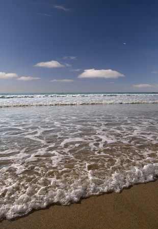 Sunny beach scene from Cornwall, UK. Stock Photo - 10610543