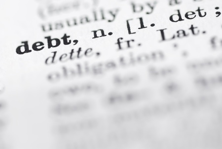 language dictionary: Shallow DOF, focus on debt in English dictionary.