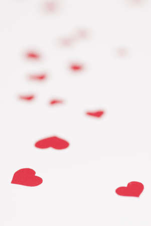 fondness: Red love heart background