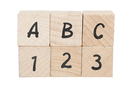 Dipiction of learning the abc photo