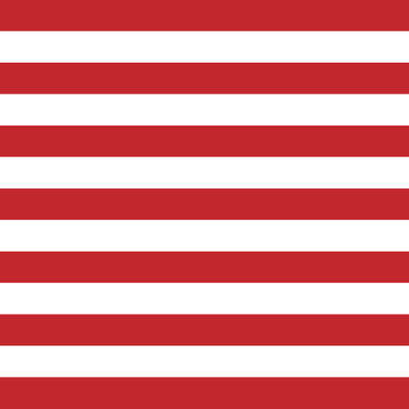 Vector seamless pattern of USA American stripes isolated on white background Ilustracje wektorowe